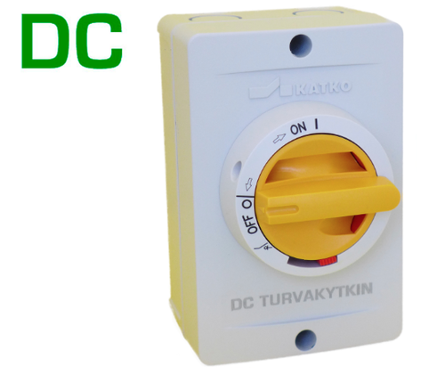 DC Safety Switch 2x16A