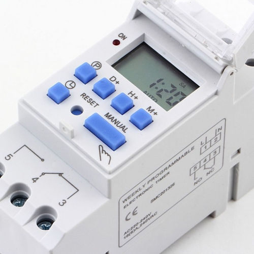 230V Programmable Time Switch for DIN-rail