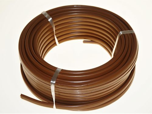 Electrical Cable 25m, 2x2,5mm2, Brown