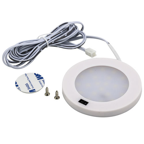 12V LED lampa 3W med touch funktion